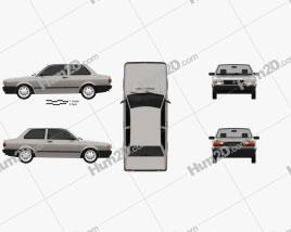 Volkswagen Voyage 2-door 1992