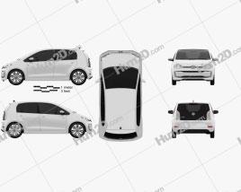 Volkswagen e-Up 5-door 2016