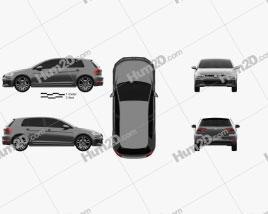 Volkswagen Golf GTD 5-door 2017