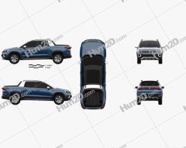 Volkswagen Tarok 2018 car clipart