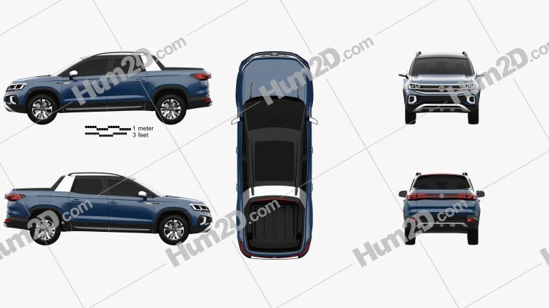 Volkswagen Tarok 2018 Clipart Image