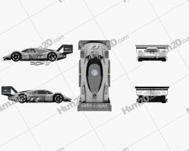 Volkswagen I.D.R 2018 car clipart