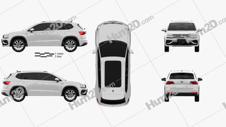 Volkswagen Tharu R-Line 2018 Clipart Image