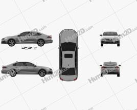 Volkswagen Passat R-Line 2019 Clipart