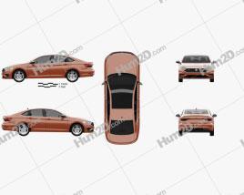 Volkswagen Jetta R-Line US-spec 2018 car clipart