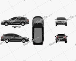 Volkswagen Golf variant Comfortline 2017