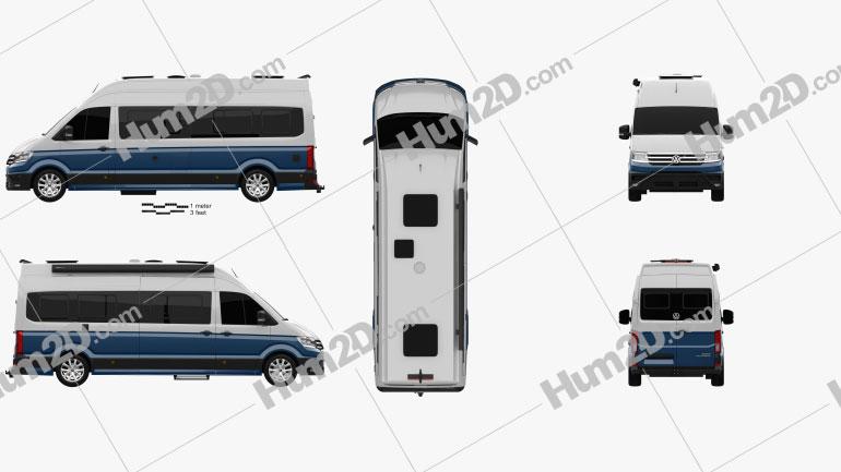Volkswagen Crafter Grand California 680 2019
