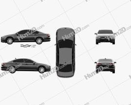 Volkswagen Passat sedan 2019