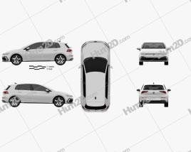 Volkswagen Golf GTE 5-door hatchback 2020