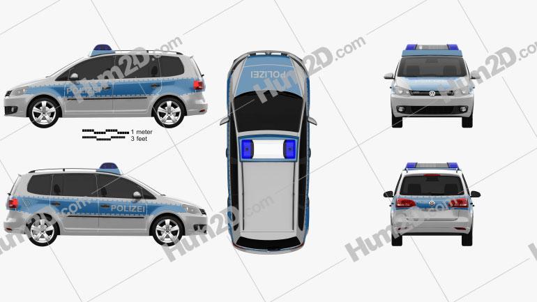 Volkswagen Touran Police Germany 2011