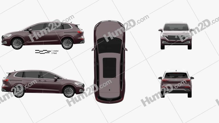 Volkswagen Viloran 2020 clipart