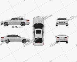 Volkswagen E-Lavida 2018