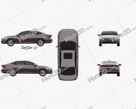 Volkswagen Lavida Plus 2018 car clipart