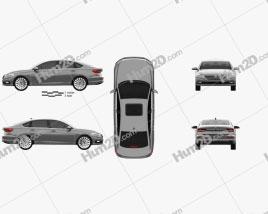 Volkswagen Lavida 2019 Clipart
