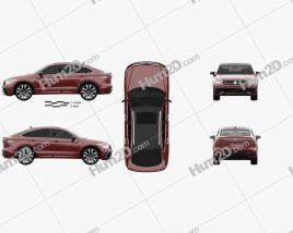 Volkswagen Tiguan X R-line CN-spec 2020 Clipart