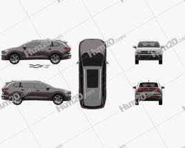 Volkswagen Talagon 2022 car clipart