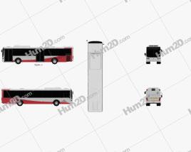 Volvo B7RLE Bus 2015