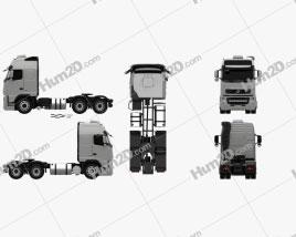 Volvo FH Tractor Truck 3-axle 2008