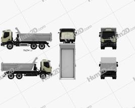 Volvo VM 330 Tipper Truck 3-axle 2014