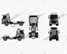 Volvo VM 330 Tractor Truck 3-axle 2014