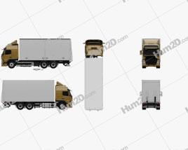 Volvo FM 370 Box Truck 2013