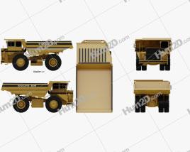 Volvo BM Kockum 565 Dump Truck 2016