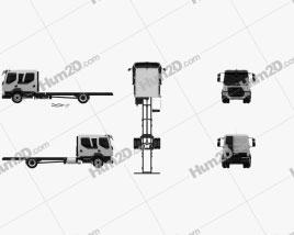 Volvo FL Crew Cab Chassis Truck 2013