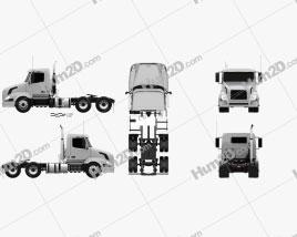 Volvo VNL (300) Tractor Truck 2011