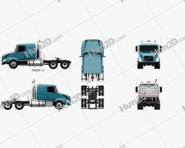 Volvo VNL (430) Tractor Truck 2011