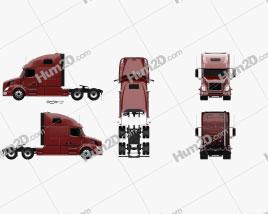 Volvo VNL (660) Tractor Truck 2011