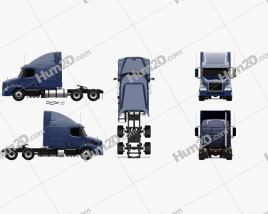 Volvo VNM (430) Tractor Truck 2012