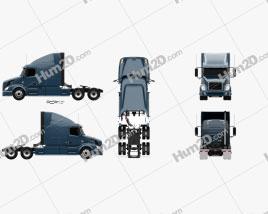 Volvo VAH (630) Tractor Truck 2012
