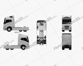 Volvo FH Tractor Truck 2016