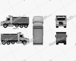 Volvo VHD Dump Truck 4-axle 2018