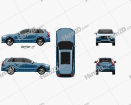 Volvo XC90 T6 R-Design 2016
