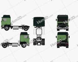 Volvo F10 Tractor Truck 1987