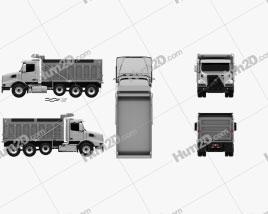 Volvo VHD Dump Truck 4-axle 2020