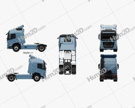 Volvo FM Tractor Truck 2020