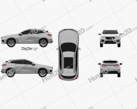WEY VV7 2018 car clipart