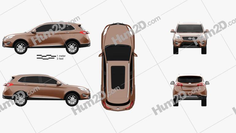 Weiwang S50 2016 car clipart