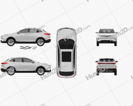 Weltmeister EX5 2018 car clipart