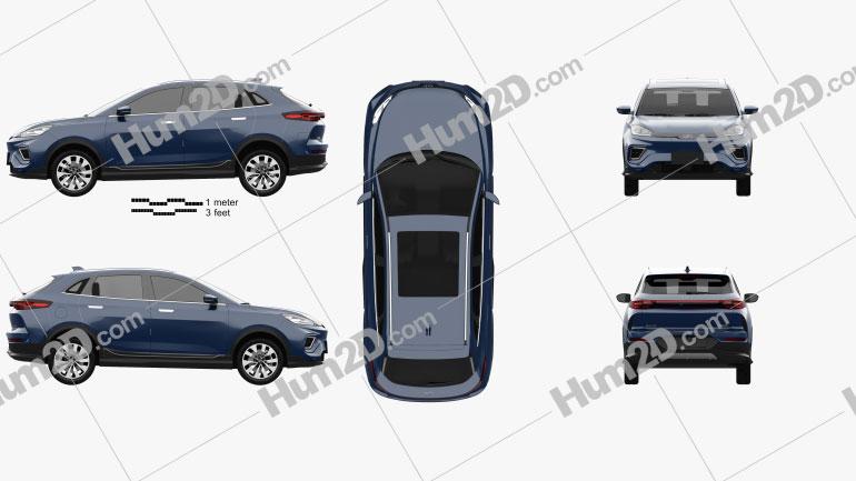 Weltmeister EX5-Z 2020 car clipart