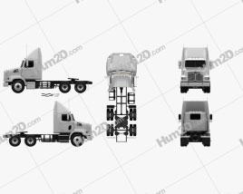 Western Star 4700 SB Day Cab Tractor Truck 2011