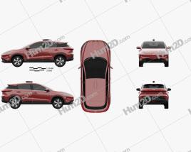 Xpeng G3 2020 car clipart