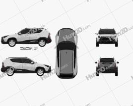 Yo Crossover 2013 car clipart