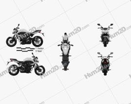Yamaha XJ6 2009 Motorcycle clipart