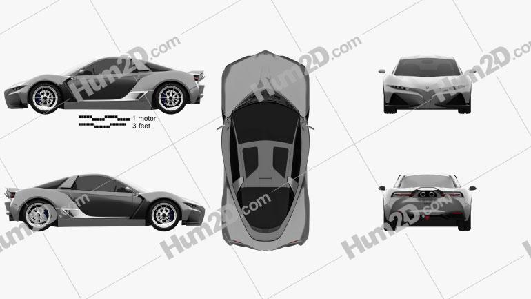 Yamaha Sports Ride 2015 car clipart