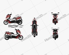 Yamaha NMAX 160 ABS 2017