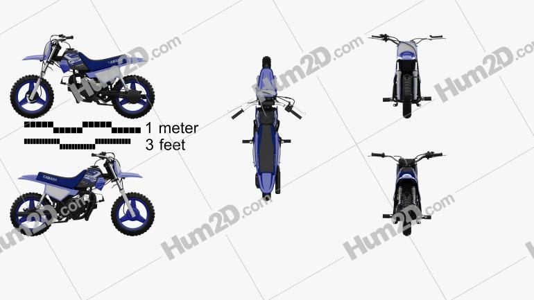 Yamaha PW50 2020 Clipart Image