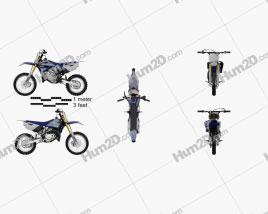 Yamaha YZ85 2015 Clipart